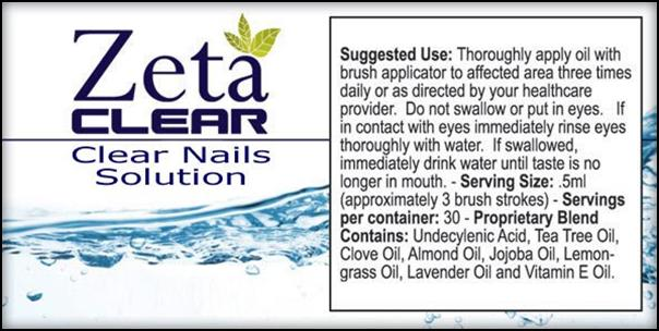 Zetaclear Ingredients Nail Fungus Solution And Results
